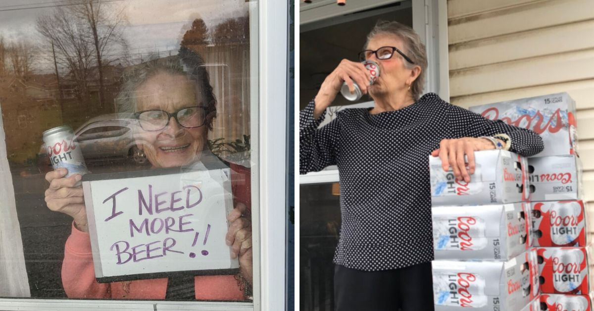 93 year old appeals- I need more beer