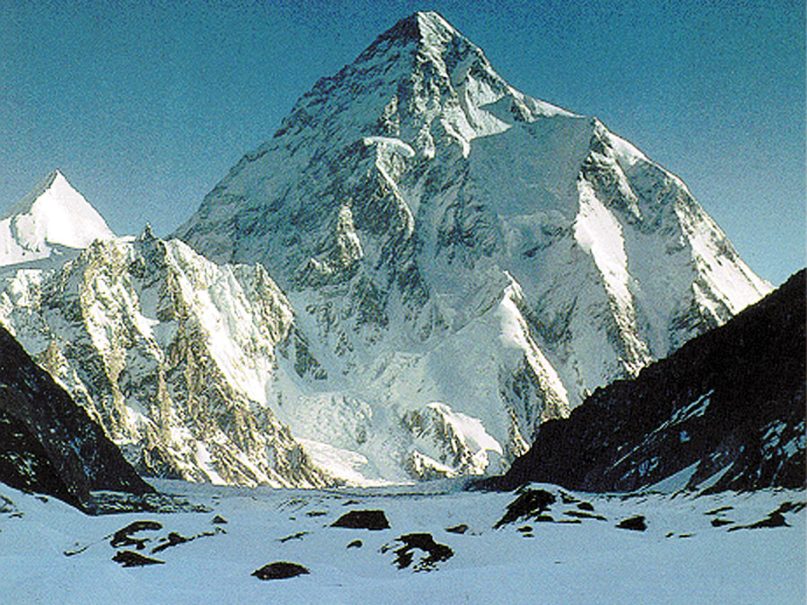 K2 - World's highest mountains number 2
