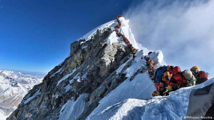 Mount Everest - The first world's highest mountains