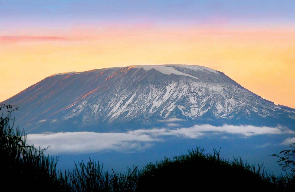 Mount-Kilimanjaro-Tanzania-World's highest mountains